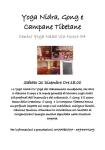 Yoga Nidra Gong e Campane Tibetane- Centro Yoga Naad Cagliari - Sabato 21 Dicembre 2019