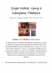 Yoga Nidra - Gong - Campante Tibetane - Cagliari