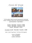 Cagliari - Centro Yoga Naad - ripresa dei corsi